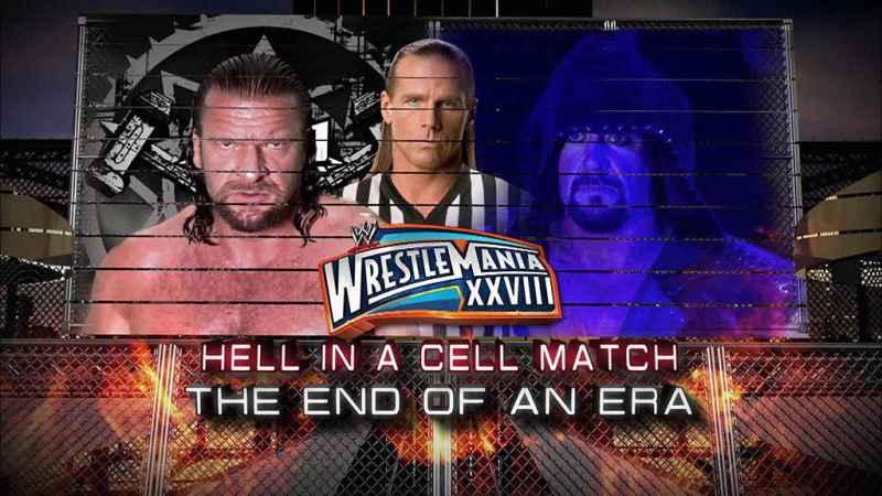 Hell in a Cell wrestlemania