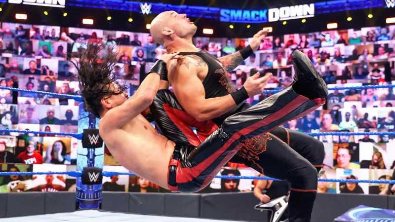 Nakamura vs Corbin