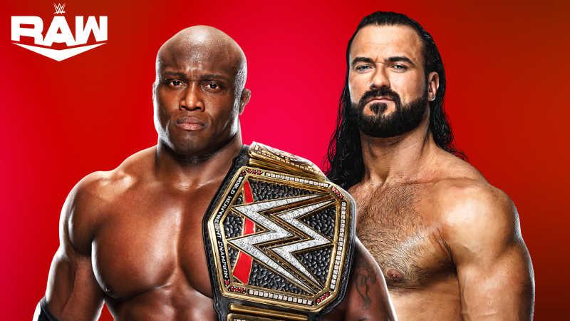 Raw Lashley vs Drew
